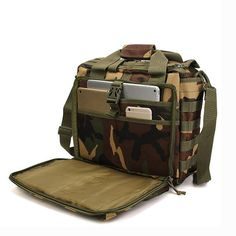 Outdoor Sport Laptop Camera Mochila Men Messenger Bag Travel Tactical Multifunction Bag - Banggood Mobile