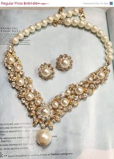 Hey, I found this really awesome Etsy listing at https://www.etsy.com/listing/240974073/bridal-jewelry-set-bridal-necklace