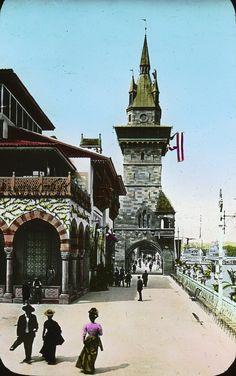 Le pavillon de la Bosnie-Herzégovine à l'exposition universelle de Paris en 1900 - Exposition universelle de 1900 — Wikipédia