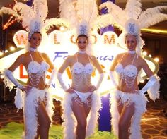 Las Vegas Show Girls Costumes - reviews and photos.