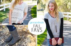 Love this fall style from Groopdealz! #fashion #style