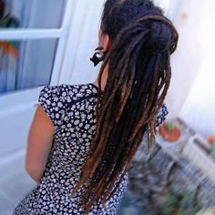 beautiful long, even dreads