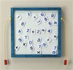 Magnetic Mix-Ups Wall Game Wall Toy - Numbers-Made in USA