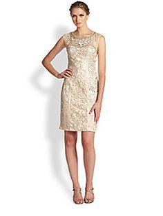 Sue Wong - Embellished Illusion Dress