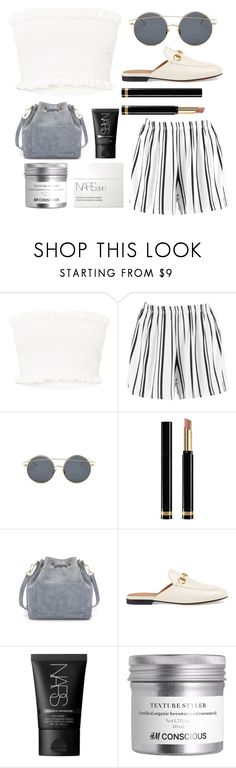 """Untitled #128"" by georgialanexo ❤ liked on Polyvore featuring Boohoo, Gucci and NARS Cosmetics"