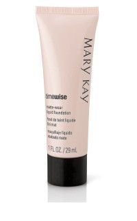 Mary Kay Foundation....this really is the best makeup for coverage and long wear. I love it.
