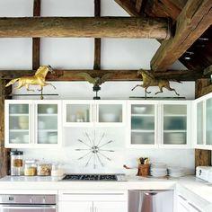 Rustic Kitchen by Gretchen Mann Design