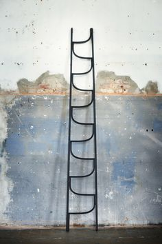 A beautifully crafted, steam-bent ladder bywww.charliestyrbjorn.com