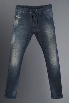 Diesel #jeans: Krooley Jogg Jeans #colourmutation Trouser Jeans, Denim Pants, Trousers, Diesel Jogg Jeans, Fashion Wear, Mens Fashion, Japanese Denim, Lifestyle Clothing, Denim Fabric