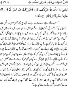 Page # 41 Complete Book: Manaqib.e.Hazrat Umar Bin Al Khatab (R.A) --- Written By: Shaykh-ul-Islam Dr. Muhammad Tahir-ul-Qadri