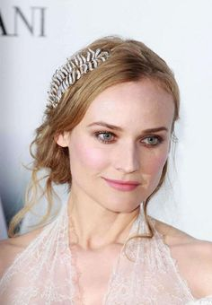 diane kruger--diy hairband