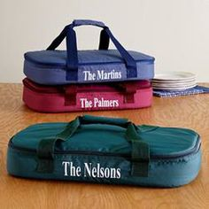 Personalized Casserole Carrier