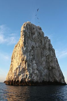 Giant rock in Cabo San Lucas, Mexico