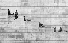 La diagonale dei gradini. Parigi - 1953 Robert Doisneau