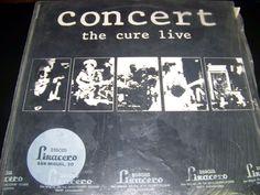 Disco Vinilo clásico THE CURE concert live- año 1984