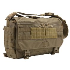 5.11 Tactical Rush Delivery Messenger Bag... looks good enough for field or office (in Black)
