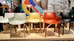 Piuma, la seduta design by Piero Lissoni di #Kartell, #SalonedelMobile #SalonedelMobile2017 #MilanoDesignWeek #MCaroundSaloni