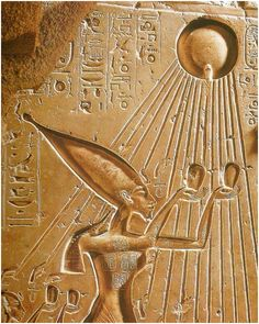 Figura 7 : As cordas da Harpa como representação do Deus Sol no Egito.