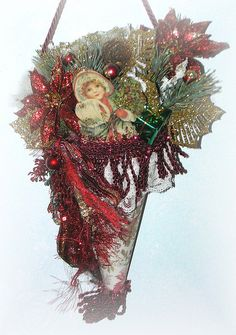 making Christmas tussy mussy - Google Search