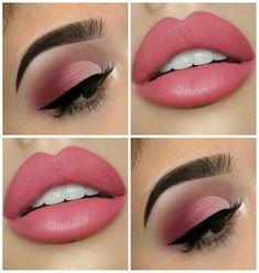 Soft pink makeup ideas