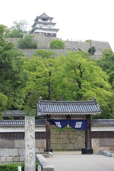 Marugame Castle (丸亀城) also known as Kameyama castle is located in Marugame, Kagawa Prefecture, Japan.