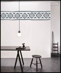 Dewaal Art Draw the Line Kitchen Dining, Kitchen Decor, Hand Painted Wallpaper, Living Room Decor, Draw, Wall Art, Design, Home Decor, Drawing Room Decoration