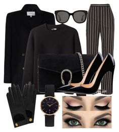 """black never goes wrong."" by bellanindia on Polyvore featuring Zimmermann, Acne Studios, Balenciaga, Gucci, Gentle Monster, Mulberry and Abbott Lyon"