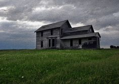 Handsome old homestead- standing alone.