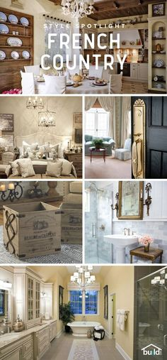 How To Give Your Home A French Country Look | Pinterest | Decorating ...
