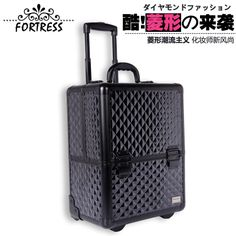 2017 Specialized In Exporting Black Trolley Makeup Case Beauty Salons Nail Box Storage Large Make Up 99 00