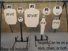 LV Steel Targets specializes in spring loaded steel targets. Metal Shooting Targets, Pistol Shooting Tips, Outdoor Shooting Range, Shooting Bench, Steel Targets, Steel Target Stands, Diy Archery Target, Pistol Targets, Shooting House