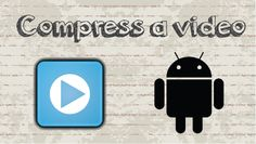 How to compress a video on Android phone #video #youtube #howtocreator #android #app #tips #tricks #free #compress #tech #news