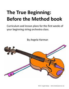 Orchestra Classroom Ideas: A Sneak Peek at my new book coming soon: Before the Method Book