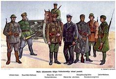 Mundury armii Estońskiej 1917 - 1923