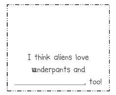 Aliens Love Underpants! Freebie