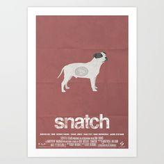 """Snatch"" alternative poster by Simon Fischer"