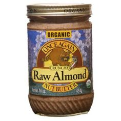 Almond Butter, 100% organic, Raw, Crnch , 16 oz (pack of 12 ) ( Value Bulk Multi-pack) - http://goodvibeorganics.com/almond-butter-100-organic-raw-crnch-16-oz-pack-of-12-value-bulk-multi-pack/