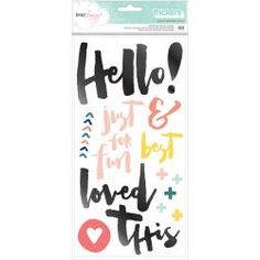 American Crafts - Dear Lizzy Saturday - Hello Thickers - 376267