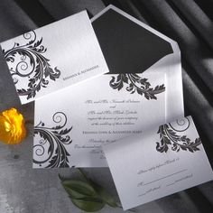 Venice Wedding Invitation | Simple Wedding Invitation