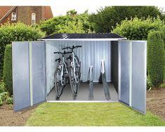 Fahrradbox tepro für 4 Fahrräder 191,6x202,1 cm anthrazit