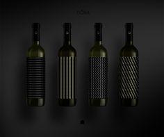 Label design / Front / Limited wine series DȎBA / NELT Company / SHONSKI art and design studio