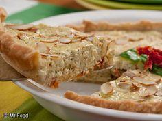 Tomato Pesto Potluck Pie   mrfood.com