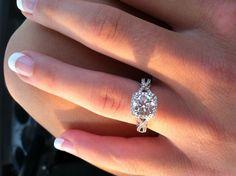 Gorgeous gorgeous gorgeous. oh my bug with a round diamond