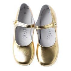 rachel riley gold metallic maryjanes