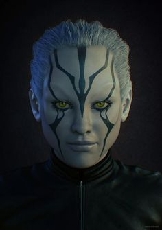 Star Trek Beyond Jaylah Sexy | Jaylah by david vercher - 3D Artist