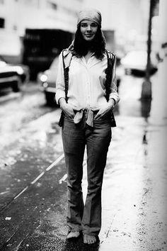 Ali MacGraw de paso por Nueva York, en la lente de Richard Avedon (1969).