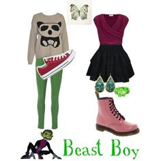 """""""Beast Boy - Teen Titans"""" by roishey on Polyvore"""