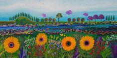 אמנים - אמנות ישראלית | גליה רון - לצייר פשוט, ציור נאיבי