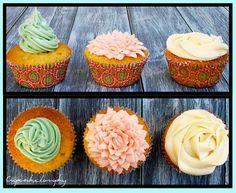Vanilla & rum cupcakes