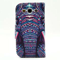 Buy Galaxy S3 Case, M-Zebra Printed Series Light Color Design PU Leather Stand Wallet Type Magnet Design Flip Case Cover For Samsung Galaxy S3 i9300, with Screen Protectors+Stylus+Cleaning Cloth (Elephant 1) NEW for 4.99 USD | Reusell